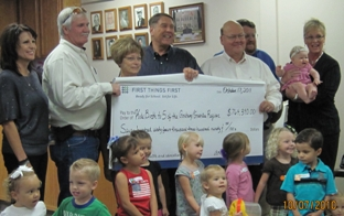 local officials receive check2.JPG
